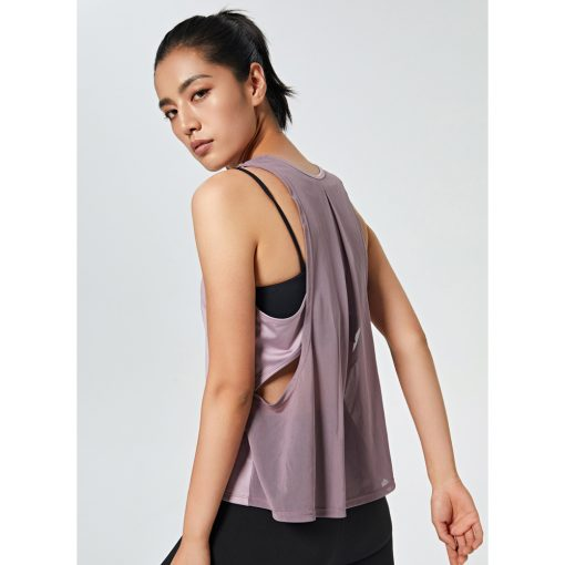 Female Loose Fit Quick Dry Tank Top 3