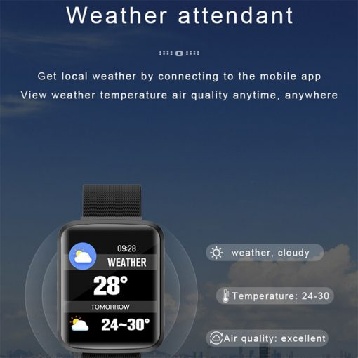 H16 Smartwatch with Bluetooth 4