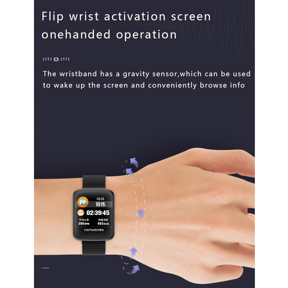 H16 Smartwatch with Bluetooth 7
