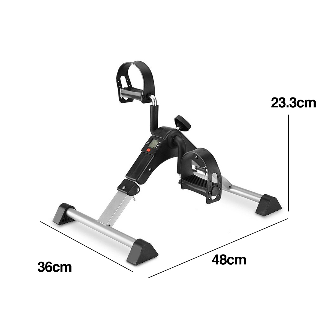 Multifunction Leg Trainer with Bike Pedal, aerobic equipment, home aerobic, lightweight, easy to store