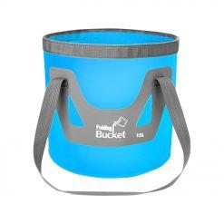 TBF 12L Outdoor Foldable Bucket Blue