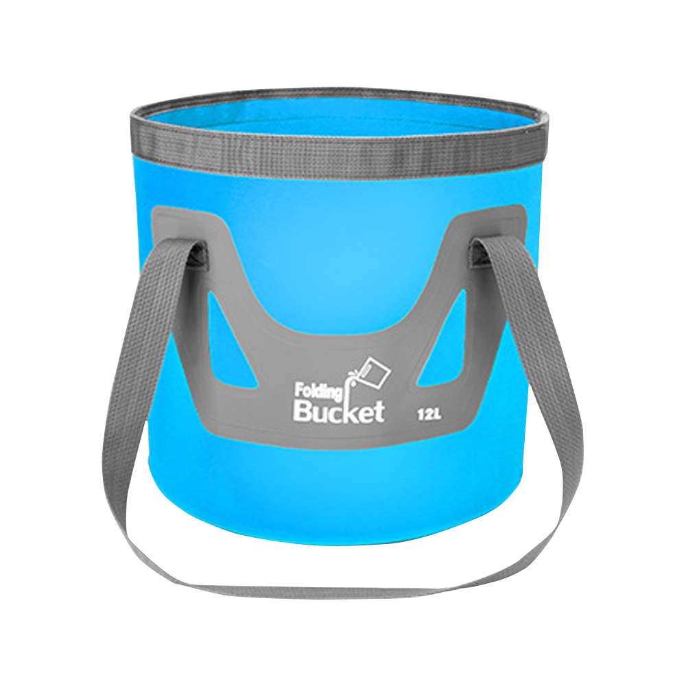 TBF 12L Outdoor Foldable Bucket, durable, fishing, picnic, water-resistant, foldable, lightweight