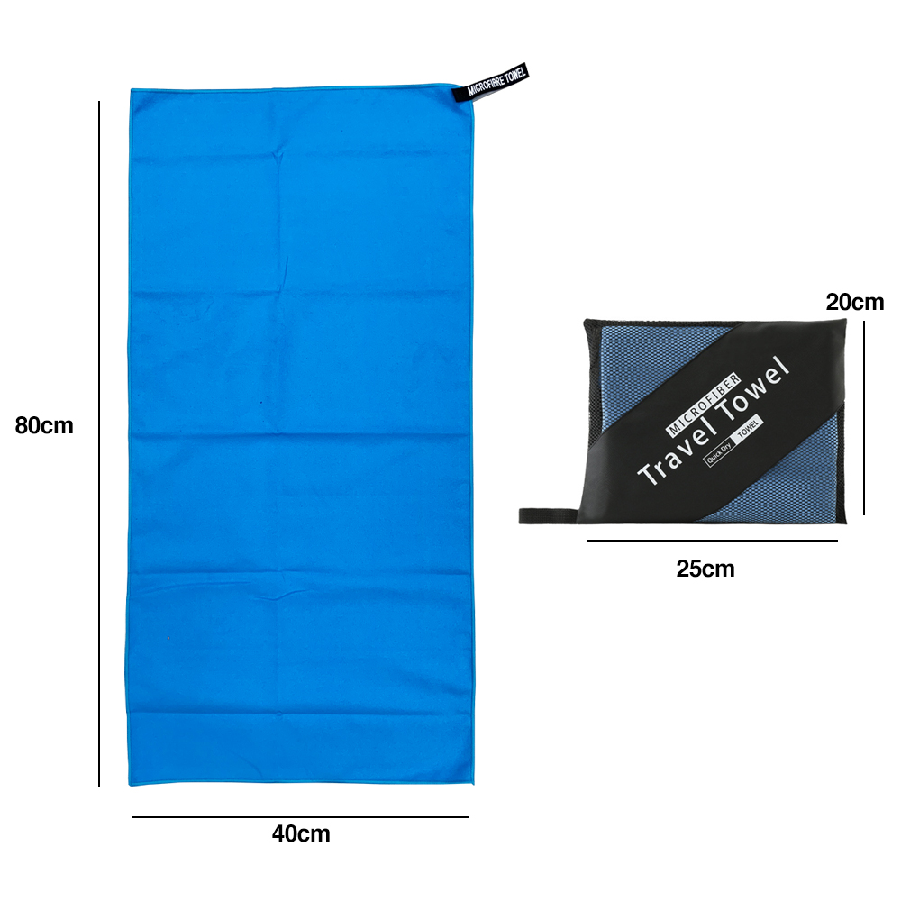TBF 40cm x 80cm Quick Dry Sports Towel, quick dry, sports, outdoor, lightweight, soft, durable, easy maintenance