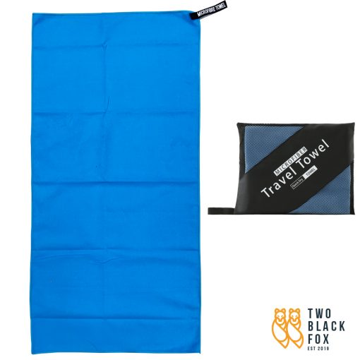 TBF 40cm x 80cm Quick Dry Sports Towel Blue