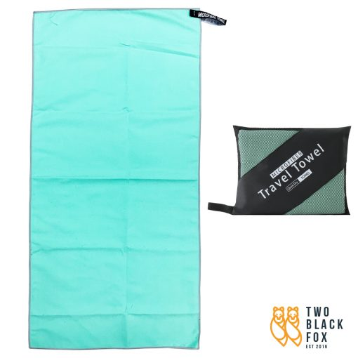 TBF 40cm x 80cm Quick Dry Sports Towel Green