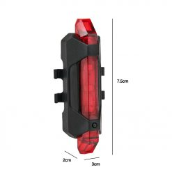 TBF Cycling Rechargeable USB Blinker 10 1
