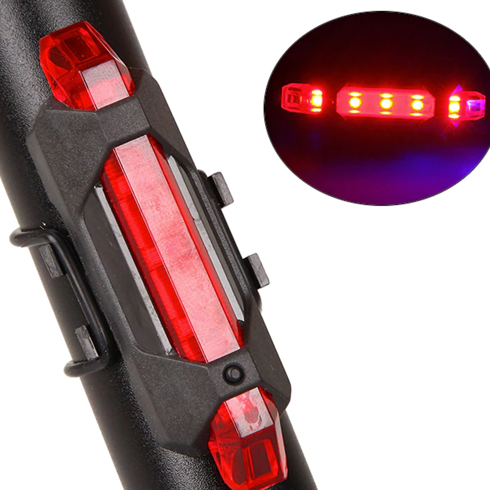 TBF Cycling Rechargeable USB Blinker, safety, style, light, brightness, cycling, sports