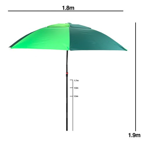 TBF Double Layer Outdoor Umbrella With Stand 3