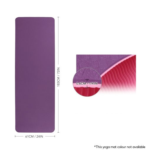TBF Exercise Yoga Mat 2 1