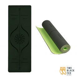 TBF Exercise Yoga Mat Dark Green 1