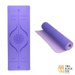 TBF Exercise Yoga Mat Purple 1