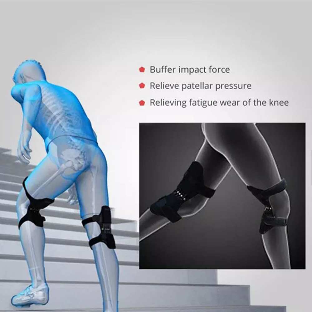 TBF Knee Guard with Back Support Spring (pair), knee support, knee guard, elastic strap, comfortable, sport supports
