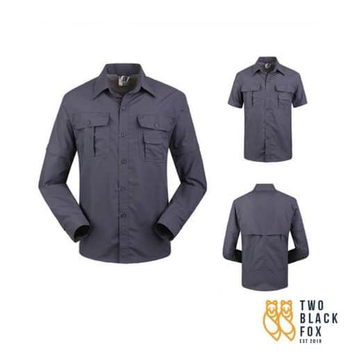 TBF Men's Quick Dry Trekking Shirt, quick-dry fabric, Breathable, Lightweight, shirt, trekking shirt, sports shirts, best quick drying shirts, shirts in Malaysia, lightweight shirts