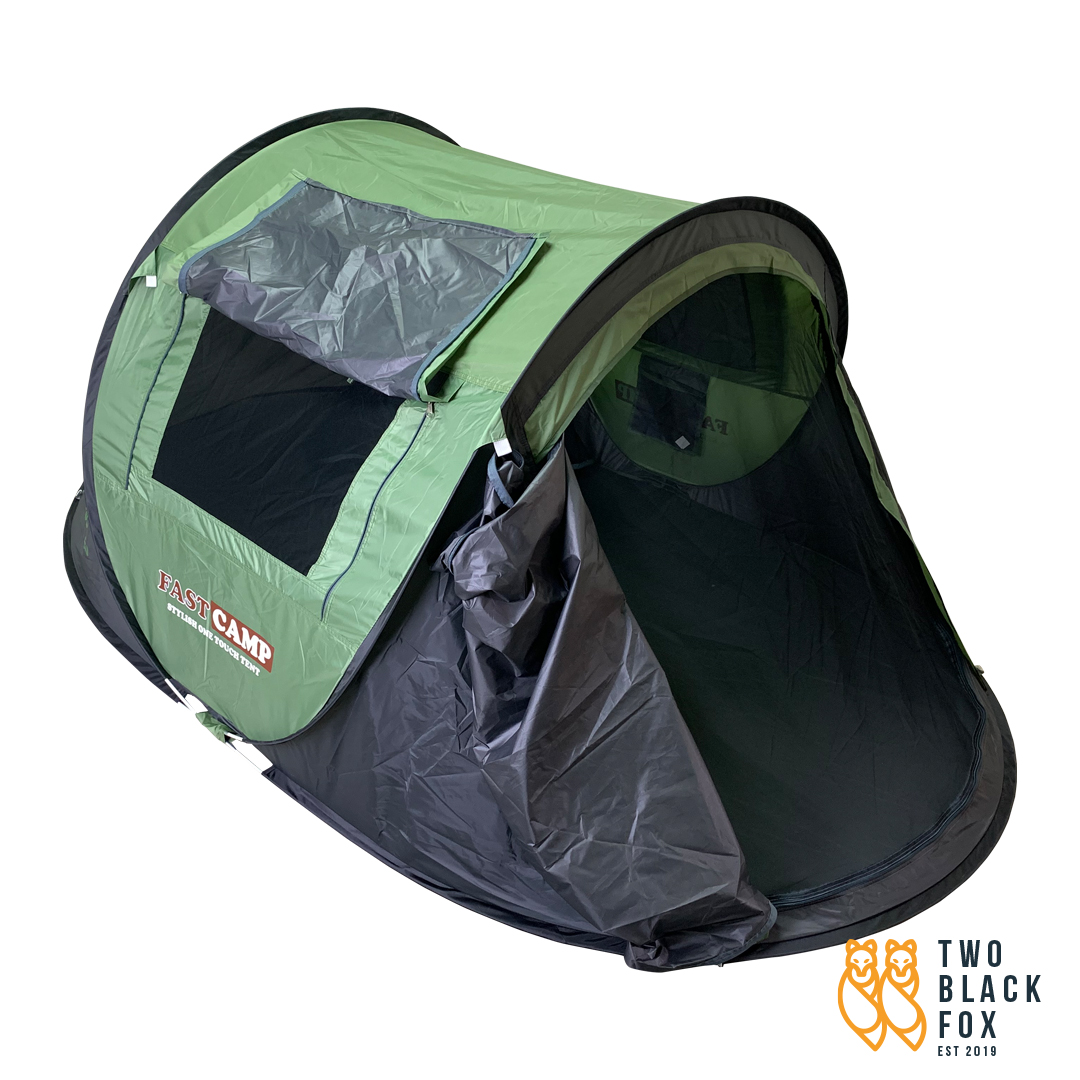TBF Fast Camp Tent, khemah, roof, outdoor room, easy pack, budget tent