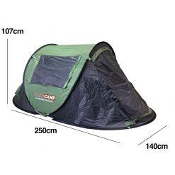 TBF Outdoor Auto Camping Tent 3 4men sz