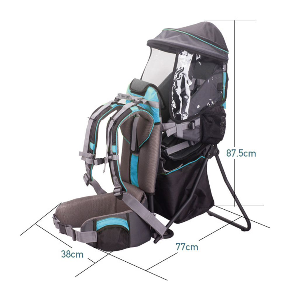 TBF Outdoor Baby Carrier Hiking Backpack, bayi, dukung, carry, beg