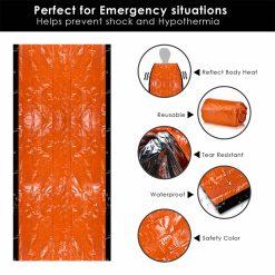 TBF Outdoor Emergency Blanket Bag 4 1