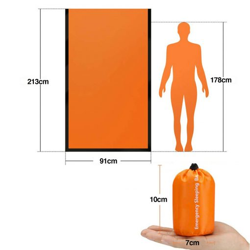 TBF Outdoor Emergency Blanket Bag 7 1
