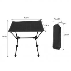 TBF Outdoor Foldable Camping Table 6 1