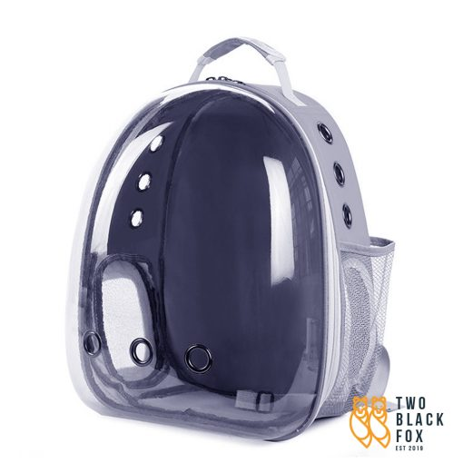 TBF Outdoor Pet Carrier Backpack With Breathing Hole Grey