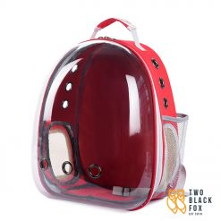 TBF Outdoor Pet Carrier Backpack With Breathing Hole Red