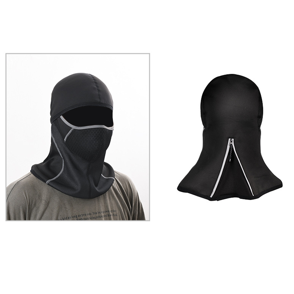 TBF Outdoor Riding Face Mask with Reflective Zip, breathable, high quality, water resistance, pocket mask filter