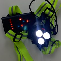 TBF Running Reflective Vest with Blinker 3
