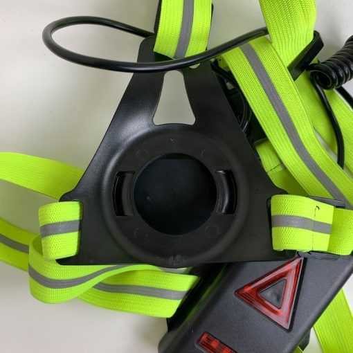 TBF Running Reflective Vest with Blinker 4