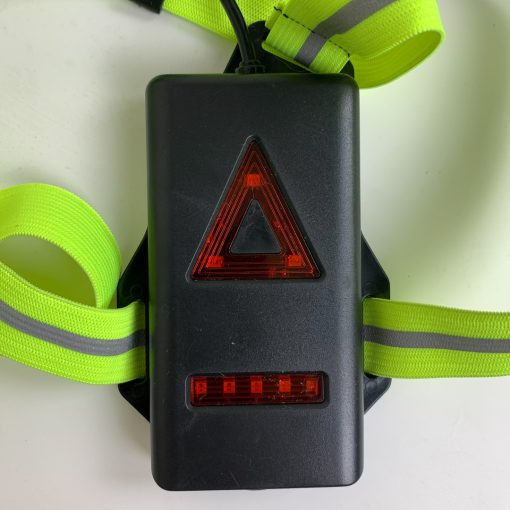 TBF Running Reflective Vest with Blinker 8