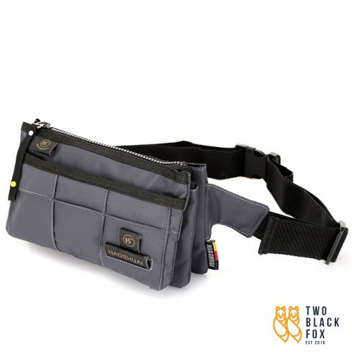 TBF Waist Pouch with Multipocket Grey