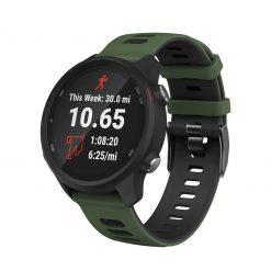 Garmin Forerunner 245M Smartwatch Strap Army Green