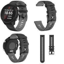 Garmin Forerunner 245M Smartwatch Strap Grey 1