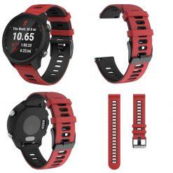 Garmin Forerunner 245M Smartwatch Strap Red 1