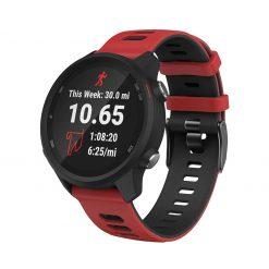 Garmin Forerunner 245M Smartwatch Strap Red