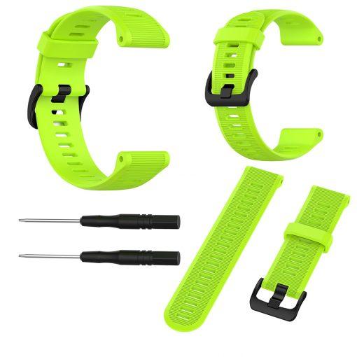 Garmin Forerunner 945 Smartwatch Strap Lime 1