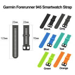 Garmin Forerunner 945 Smartwatch Strap SC