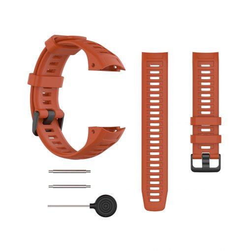 Garmin Instinct Smartwatch Strap Red 1