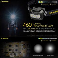 NITECORE NU35 LED Rechargeable Headlamp 3
