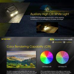 NITECORE NU35 LED Rechargeable Headlamp 4