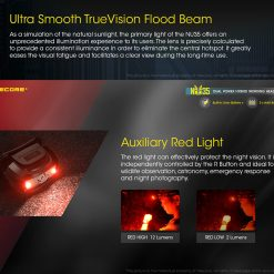 NITECORE NU35 LED Rechargeable Headlamp 5