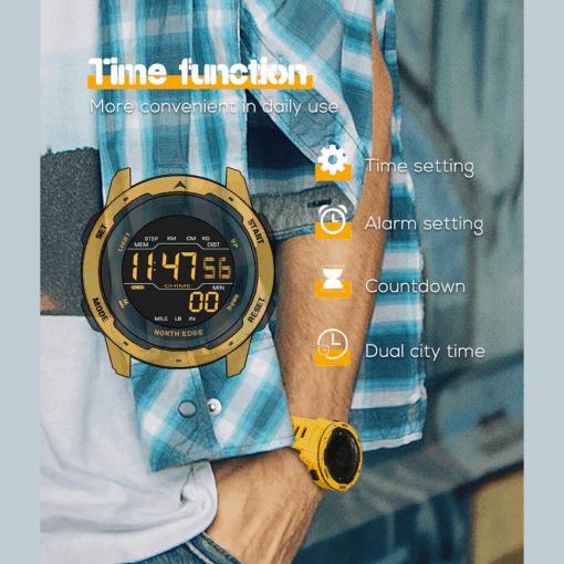 NORTH EDGE Mars Smartwatch 6