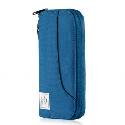 Naturehike Multifunction RFID Blocking Anti Theft Wallet Blue