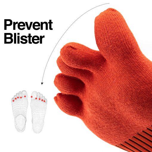 Naturehike Quick Dry Running Toe Socks 3