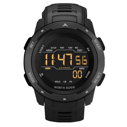 North Edge Mars Smartwatch Black