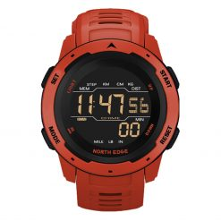 North Edge Mars Smartwatch Red