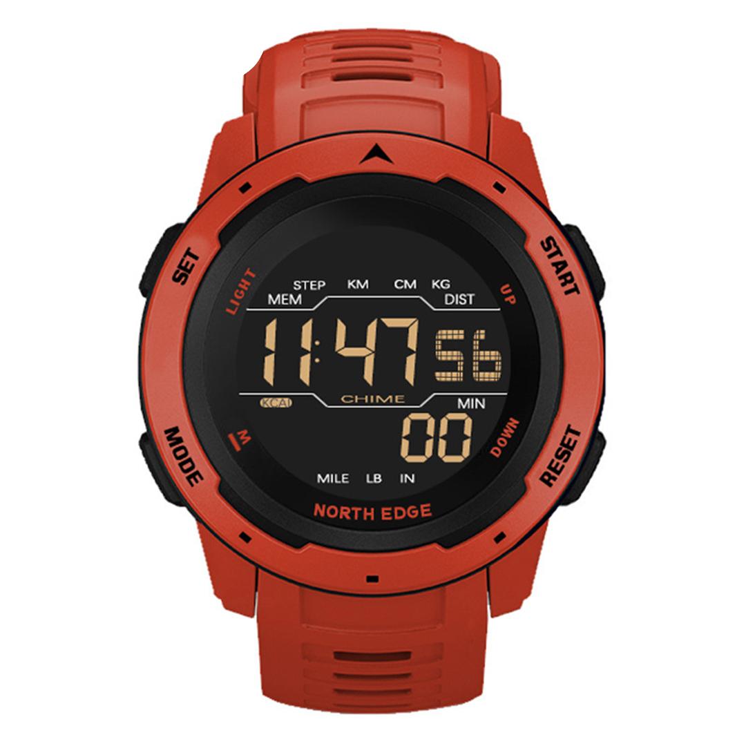 North Edge Mars Smartwatch Red