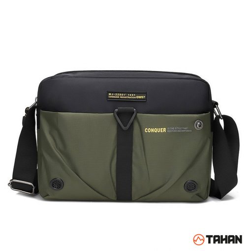 TAHAN CONQUER Multipurpose Sling Bag Dark Green