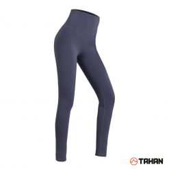TAHAN Female High Waist Yoga Legging Grey