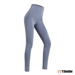 TAHAN Female High Waist Yoga Legging Haze Blue