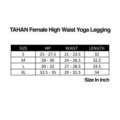 TAHAN Female High Waist Yoga Legging SC